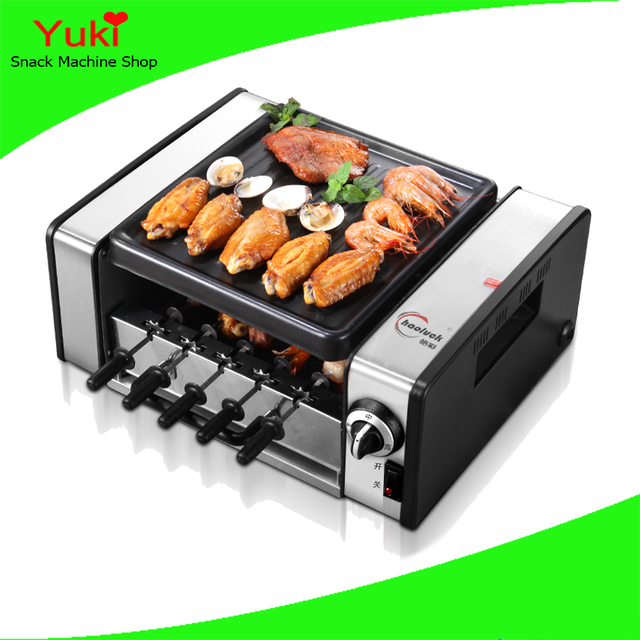 Hot Home Grill Table Electric Bbq Kebab Machine Stainless Steel En For