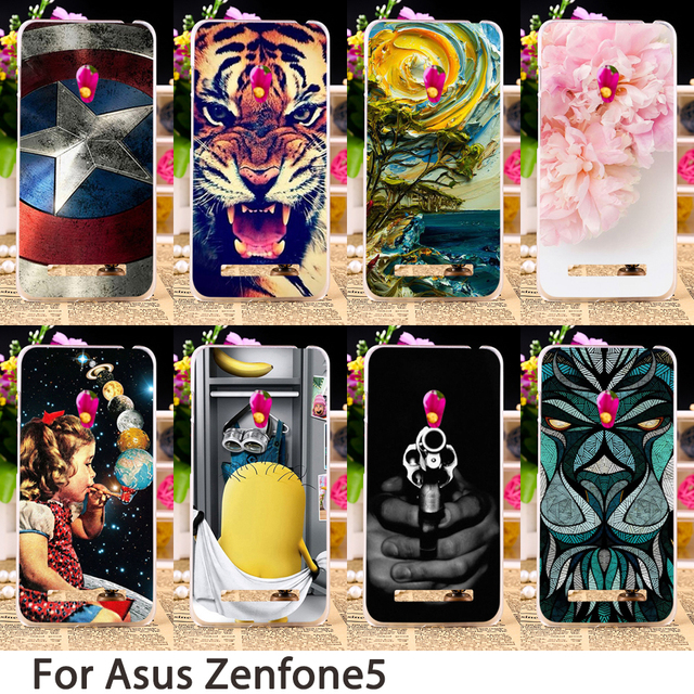 Soft Phone Cases For Asus Zenfone5 ZenFone 5 ASUS_T00J A501CG A500CG A500KL Case Hard Back Cover Skin Housing Sheaths Hoods Bag