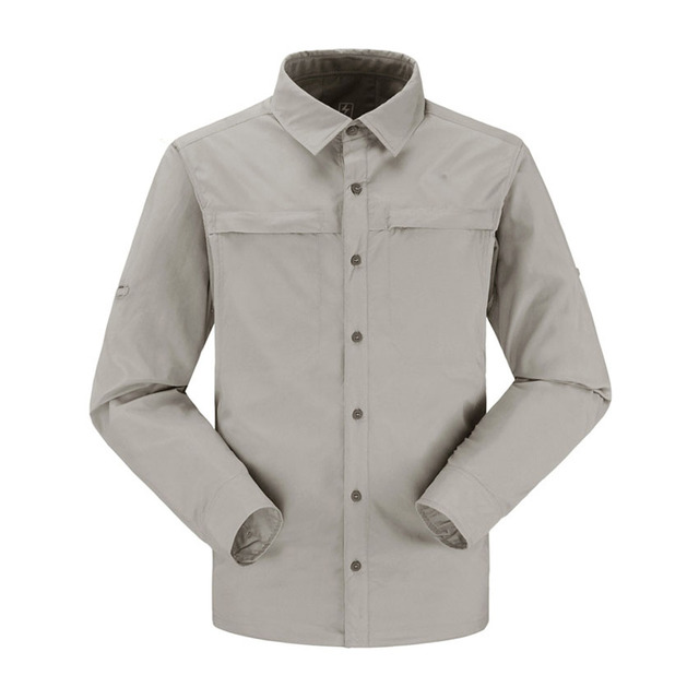 1d9a9fc7c1c6 Outdoor Summer Men Tactical Quick Fast Dry UV Protection Long Sleeve Shirts  Fishing Hiking Sports Breathable Thin Clothing Shirt