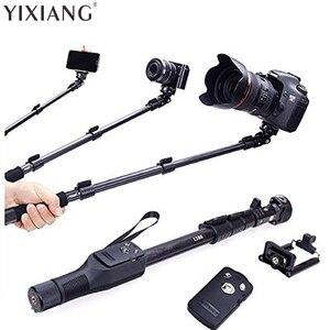 Оригинальный бренд YIXIANG, 1288 селфи-палки, ручной монопод + держатель для телефона + Bluetooth затвора для iPhone, GoPro, камеры