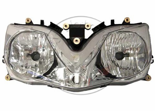 Motorcycle Front Headlight For Honda CBR600RR F4 F4I 2001 2002 2003 2004-2007 Head Light Lamp Assembly Headlamp Lighting Parts 2001 2002 2003 2004 2005 2007 full set motorcycle new front rear brake discs rotors for honda cbr600f cbr 600 f supersport f4