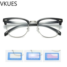 VKUES Blue Light Glasses Computer Anti Blocking Screen Radiation Fashion Clear Gaming Decorative Eyewear
