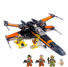 NEW  X-wing Fighter building blocks Airplane Models Bricks  Compatible  children gift enducational toys стоимость