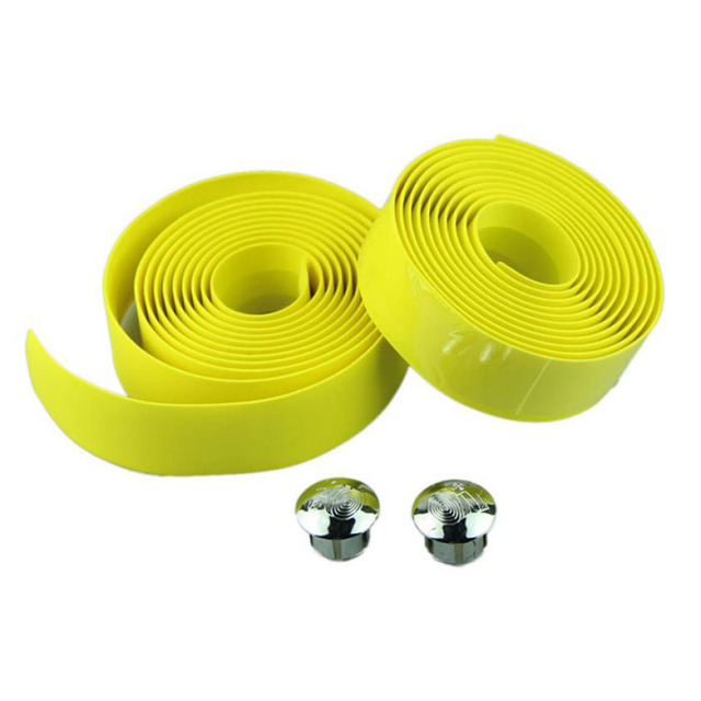 Cycling Handlebar Tape Wrap +2 Bar Plugs