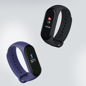 Image 5 - Xiao mi mi Band 4, ต้นฉบับ 2019 ใหม่ล่าสุดสมาร์ท mi band 4 สร้อยข้อมือ Heart Rate Fitness 135 mAh หน้าจอสีบลูทูธ 5.0