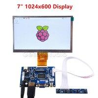 Raspberry Pi 7 дюймов ЖК-дисплей 600*1024 TFT монитор экран с приводной платой для Raspberry Pi 2/3 Модель B
