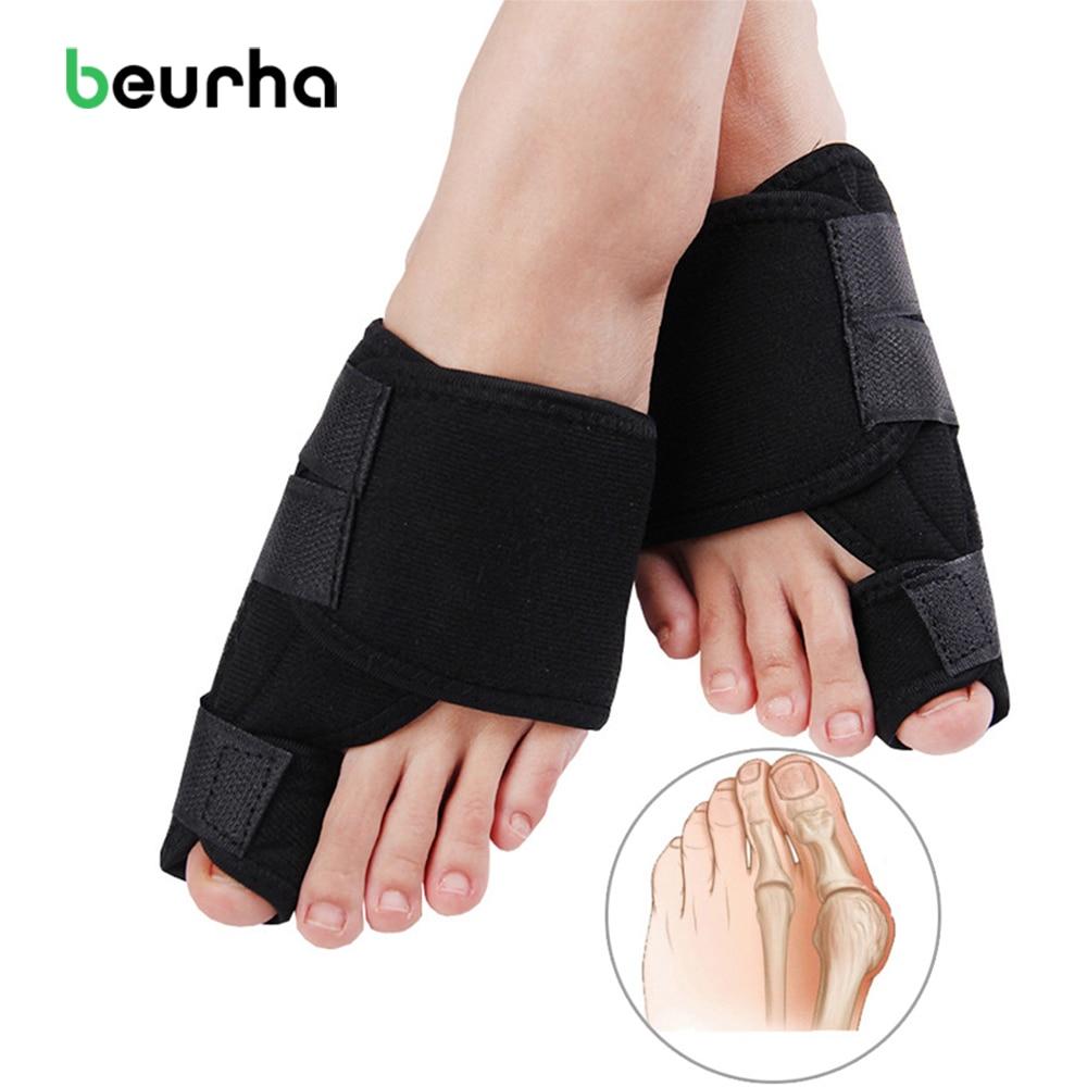Beurha Bunion Corrector Medical Device Hallux Valgus Foot Care Toe Separator Thumb Valgus Protector Splint Correction Feet Tool orthopedic bunion corrector