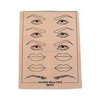 Top Kwaliteit Permanente Make Wenkbrauw lippen Tattoo Praktijk Huid Training Huid Set Voor Beginners