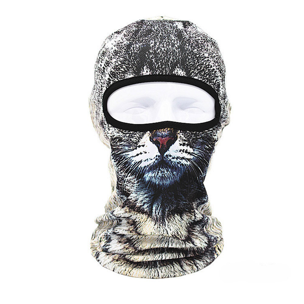 Outdoor Cycling Balaclava Full Face Mask Bicycle Ski Bike Ride Snowboard Sport Headgear Helmet Tactical Paintball Hat Cap #D