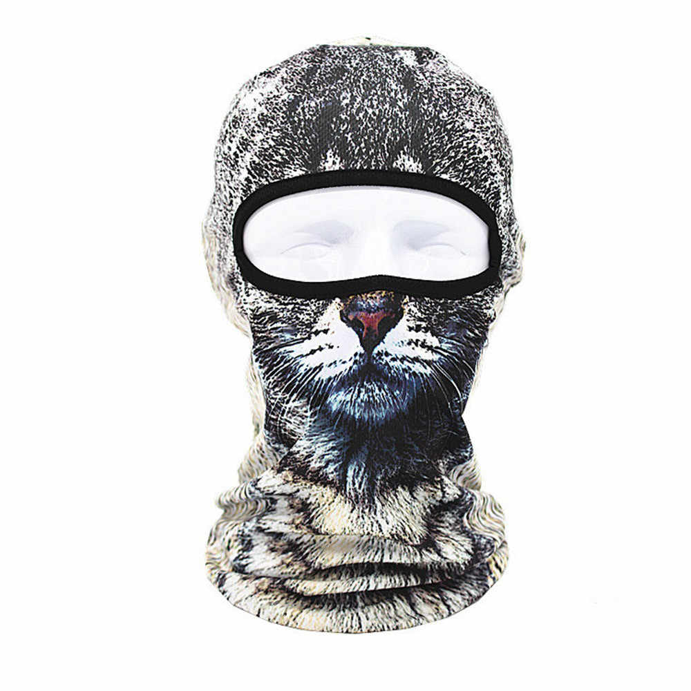 Outdoor Cycling Balaclava Full Face Mask Bicycle Ski Bike Ride Snowboard Sport Headgear Helmet Tactical Paintball Hat Cap D40