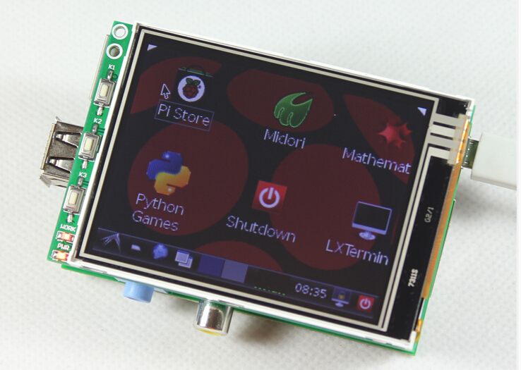 "3.2/"" TFT LCD Module 320*240 RGB Touch Screen Display Monitor For Raspberry Pi"