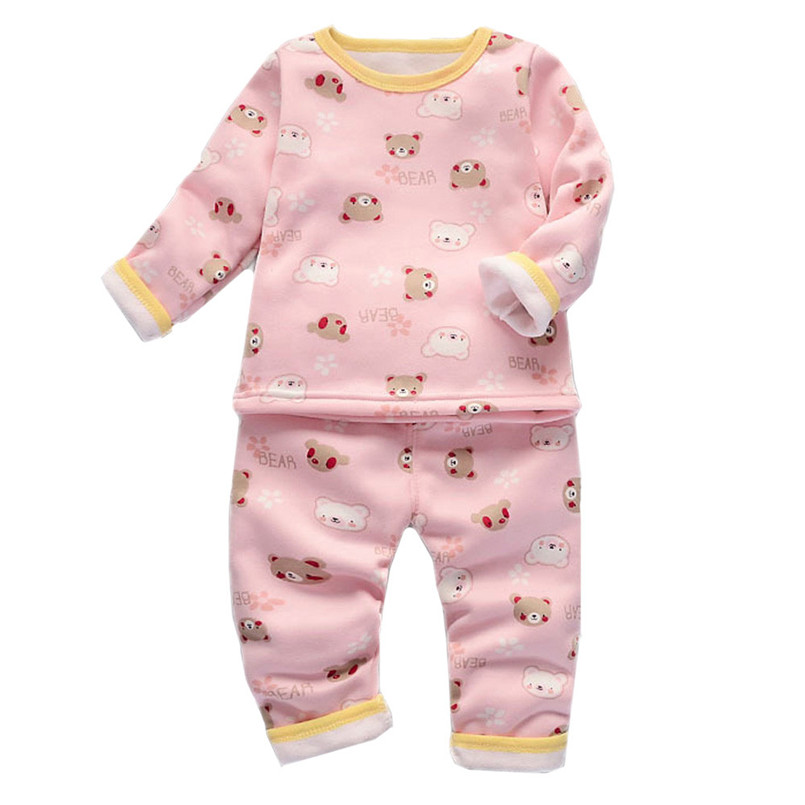 2018 Baby Cute Boy Girl Round Collar Long Sleeve Tops Family Clothes Warm Clothing Comfortable children For 24Months-6Years P5