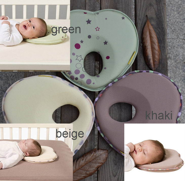 Hot infant head support kids shaped headrest sleep positioner anti roll cushion nursing pillow baby pillow to prevent flat head