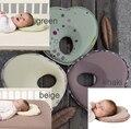 Soporte para la cabeza caliente infantil kids en forma de cojín de lactancia del bebé almohada antivuelco sueño posicionador reposacabezas para previene la cabeza plana