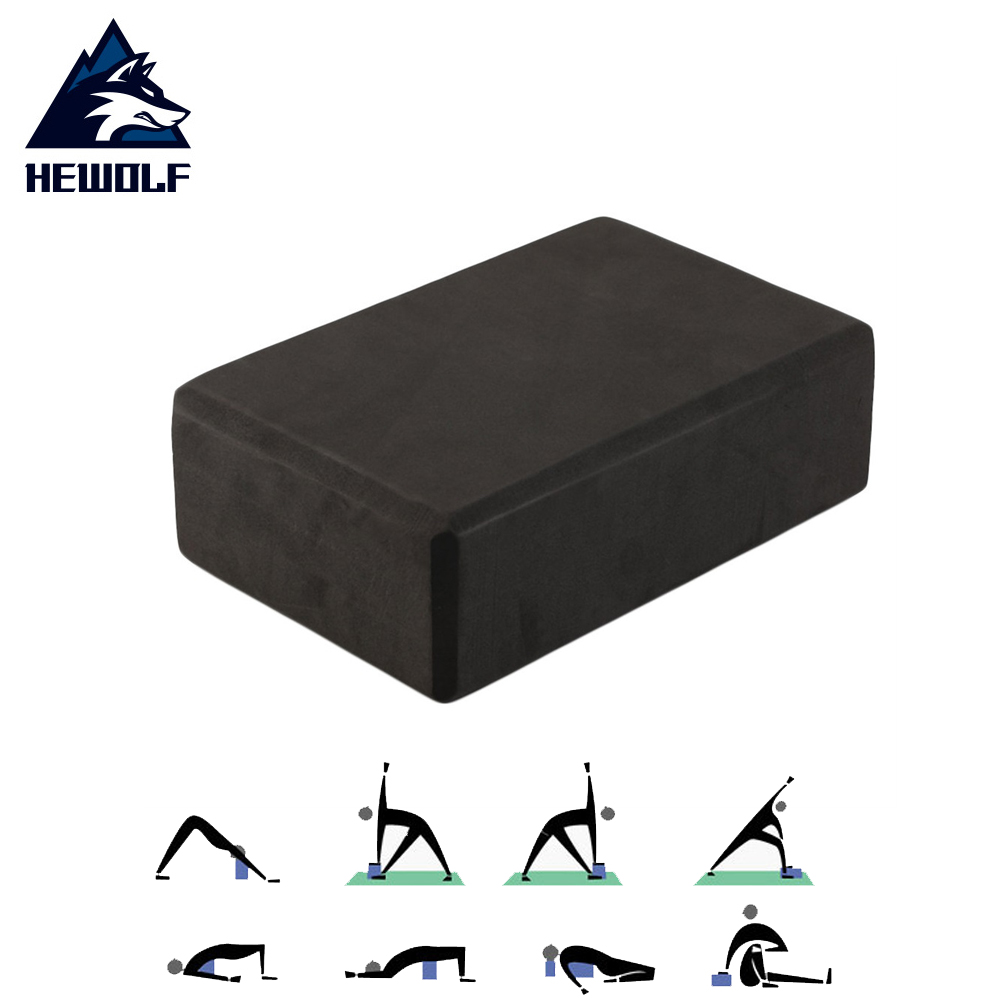 EVA Yoga Block Brick Foam Home Exercise Fitness Roller Massage Gym Stretching Aid Body Shaping Health Training Dropshipping in Yoga Blocks from Sports Entertainment