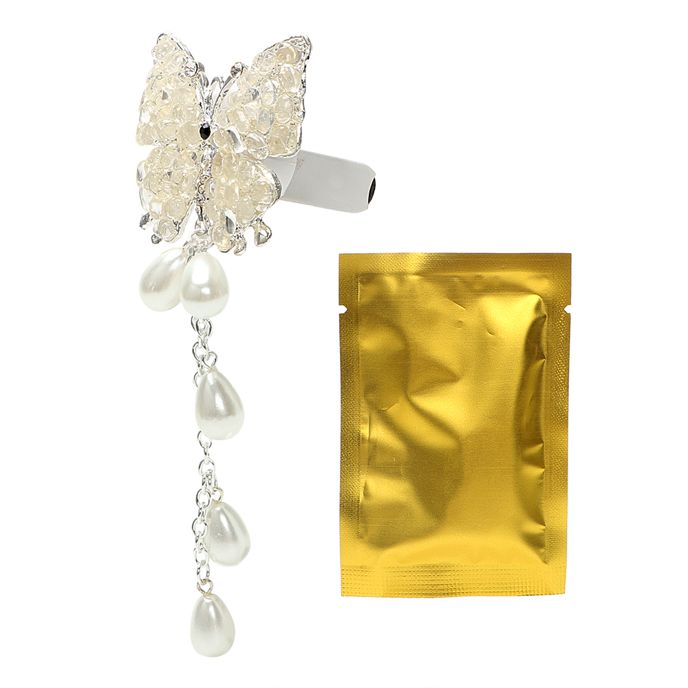Diamond Butterfly Car Air Freshener Air Condition Vent Decoration ...