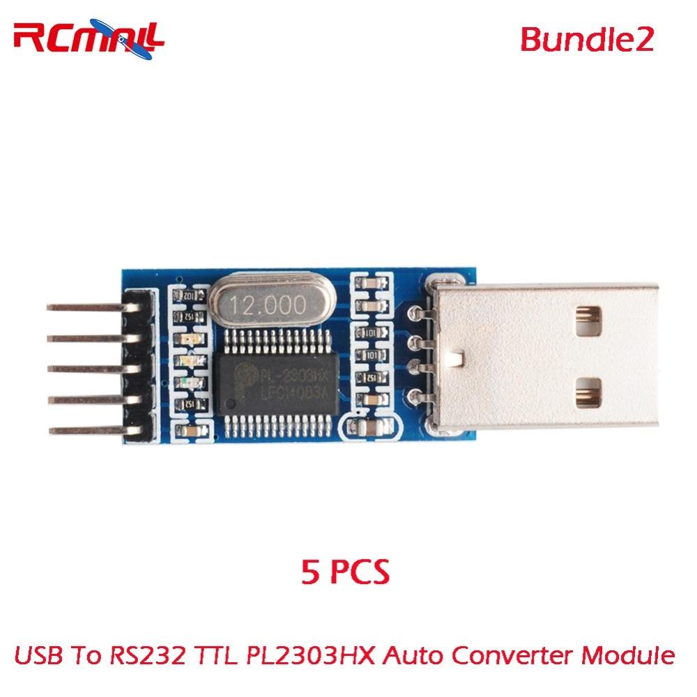 5PCS USB To RS232 TTL PL2303HX Auto Converter Module arduino Converter Adapter