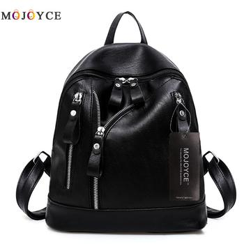 Women Backpacks Hot Sale Fashion Causal Bags High Quality Bead Female Shoulder Bag PU Leather For Girls