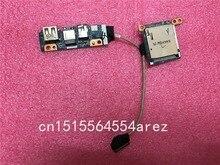 الأصلي لينوفو Y40 Y40 70 الصوت USB ميناء مجلس LS B134P وحدة قراءة بطاقات مجلس LS B133P
