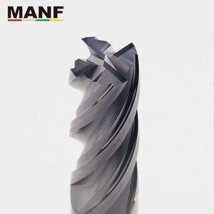 Image 3 - MANF כרסום Cutters HRC50 4mm 6mm 8mm 10mm מוצק קרביד EndMills טונגסטן קרביד טחנות סוף מיל חותך כרסום