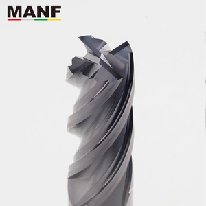 Image 3 - MANF freze kesiciler HRC50 4mm 6mm 8mm 10mm katı karbür EndMills Tungsten karbür ucu frezeleri Mill kesici freze