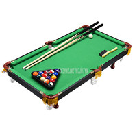 93*50cm Children's Billiard Table Set Mini Pool Table Billiards Table With Balls and Cue Kids Entertainment Play Sport Toy 90B