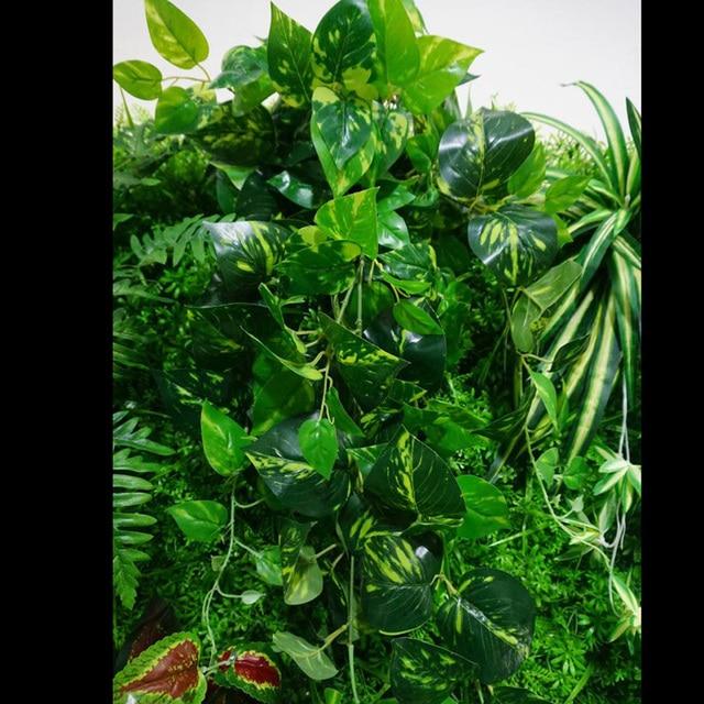 Vert Plantation Bâtons Simulation Mur Végétal Artificielle ...