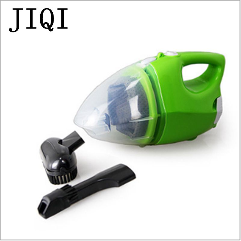 JIQI Portable Hand held Vacuum Cleaner Household Electric Suction Aspirator Machine MINI Mite Controller Remover Dust Collector bear 220 v hand held electric blender multifunctional household grinding meat mincing juicer machine