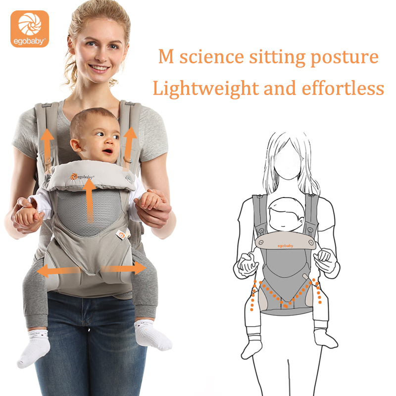 omni360 Baby Carrier Multifunction Breathable Infant Carrier Backpack Kid carrier Toddler Sling Wrap Suspenders high quality in Backpacks Carriers from Mother Kids