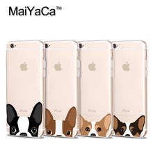 MaiYaCa You asleep yet Transparent TPU Soft Phone Case Accessories Cover For iPhone 5s 6s 7 plus xs max xr case DOGS ANIMAL
