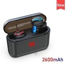 New Bluetooth Auricolare Sport Cuffie Senza Fili Mini Box Di Ricarica per Auricolari Del Telefono Mobile Wa