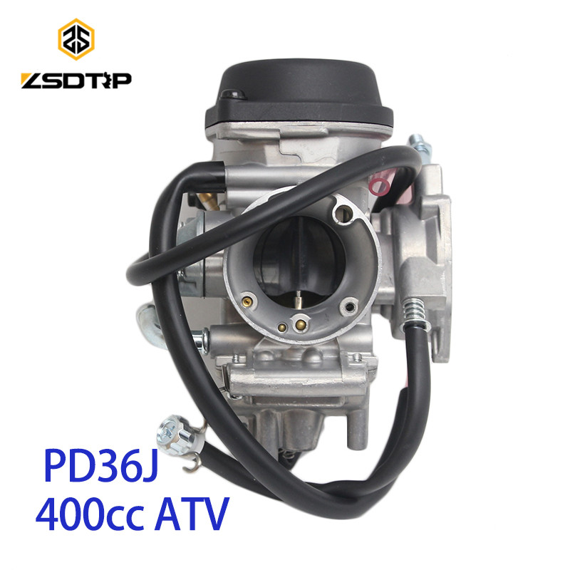 ZSDTRP PD36J 36mm Vacuum Carburetor case for kawasaki suzuki 400 cc1995 2010 universal other 300cc to