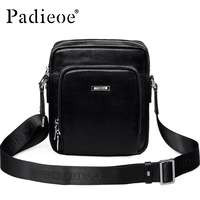 Padieoe 2016 Fashion Men Shoulder Bags Messenger Bag Men Business Men S Travel Bags Genuine Leather