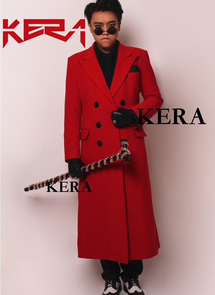 d46ebf480cb Aliexpress.com : 신뢰할수 있는 suit coat 공급업체jiamin zhou's store에서 2019 새로운 남성 패션  dj 보라색 캐시미어 긴 정장 윈드 브레이커 남성 성능 코트 가수 ...