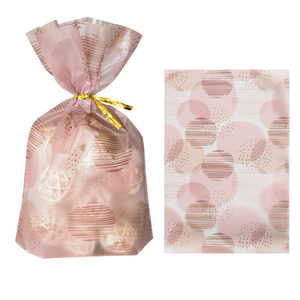 Image 3 - 50Pcs Plume Plastic Bag Easter Birthday Party Candy And Sweets Gift Bags Natal Present Anniversaire Gift Wrapping