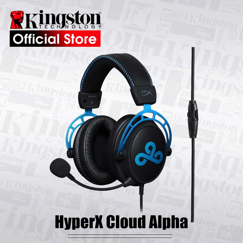 Kingston HyperX Cloud Alpha Cloud9 E sports Headphones with Microphone Gaming Headset for PC PS4 Xbox