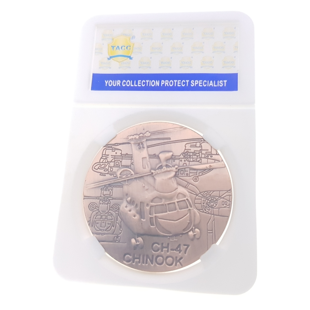 Commemorative Coin Collection Medal Souvenir Badge Coins Money Anniversary Boeing CH-47 Chinook Airforce Air Fortress Plane Coin
