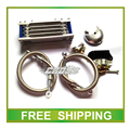 GN125 EN125 GS125 GZ125 GSX 125cc motorcycle radiator cooling system alloy silver color accessories free shipping