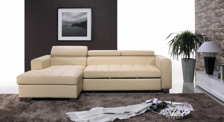 Luxury Modern Leather Sofa Setelegant Living Room Set