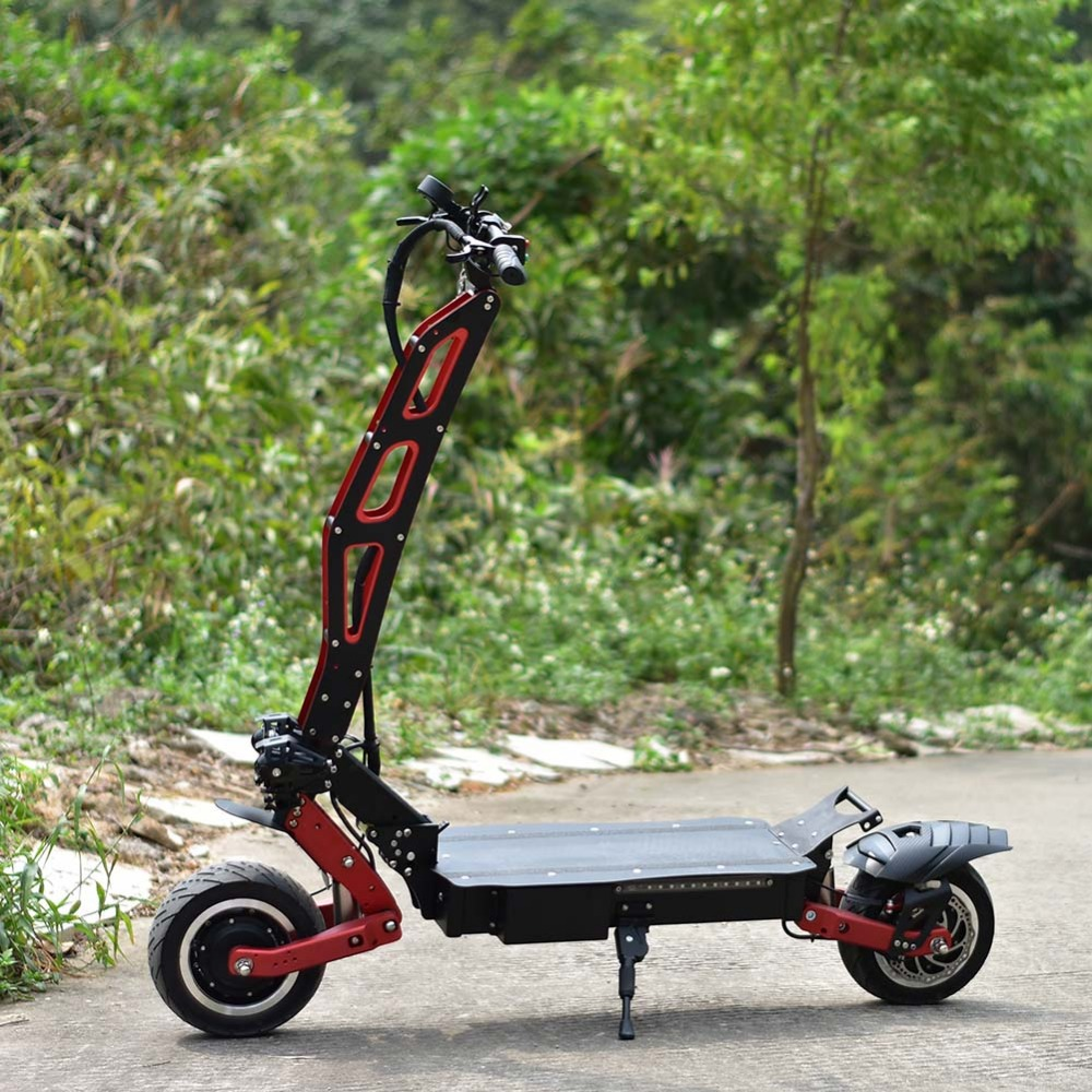 two wheel electric rechargeable personal standing electronics all terrain <font><b>scooter</b></font> <font><b>3200W</b></font> citycoco fat tire bike P2 image