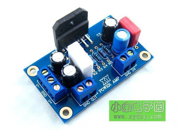 Fever class single channel LM3886TF power amplifier board (finished board) can be parallel to the classic circuit купить