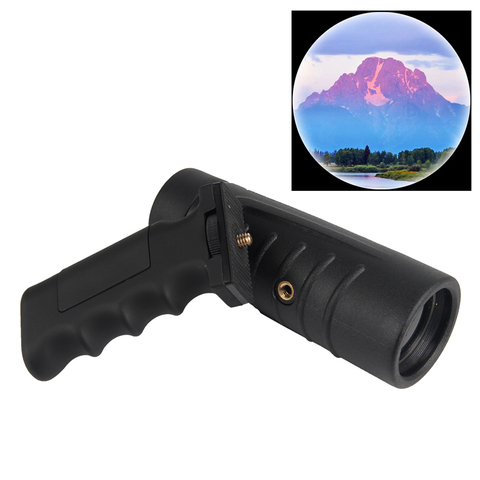 10X42 Telescope Dual Focus Monocular Scope Night Vision HD Prism Spyglass with Handle and Cellphone Clip for Wildlife 38-0011 Karachi