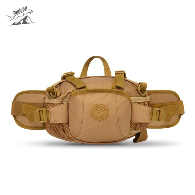 1c9853305924 US $15.17 45% OFF|Tanluhu water resistant scratch resistant Outdoor Waist  Bag 600D Nylon Tactical Waist Pack Bag with Water Bottle Pocket Holder-in  ...