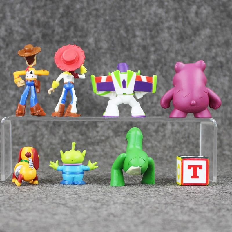 8 unids set Cute Toy Story 3 Buzz Lightyear Woody Jesse Mini PVC figura de  acción juguetes modelos muñecas coleccionables niños regalos 3 7 cm en  Acción y ... ecbc3854ec6