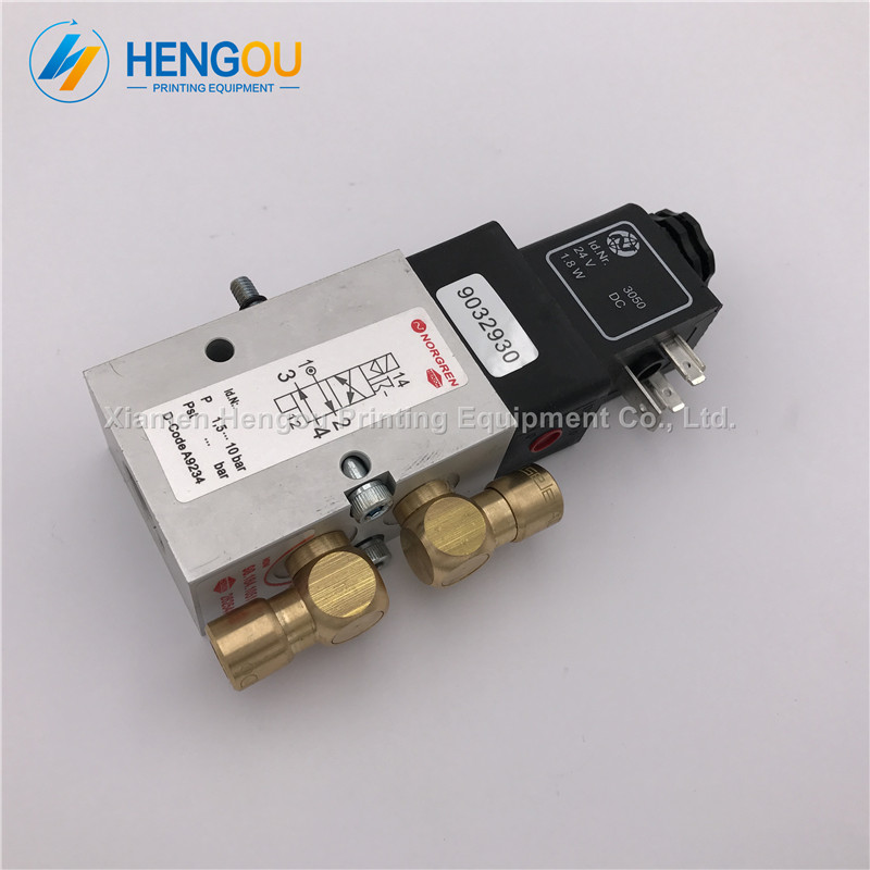 2 Pieces high quality Heidelberg CD102 SM102 MO machine valve 98.184.1051 5 pieces heidelberg parts 98 184 1051 heidelberg valve 2625484 for heidelberg cd102 sm102 mo machine parts