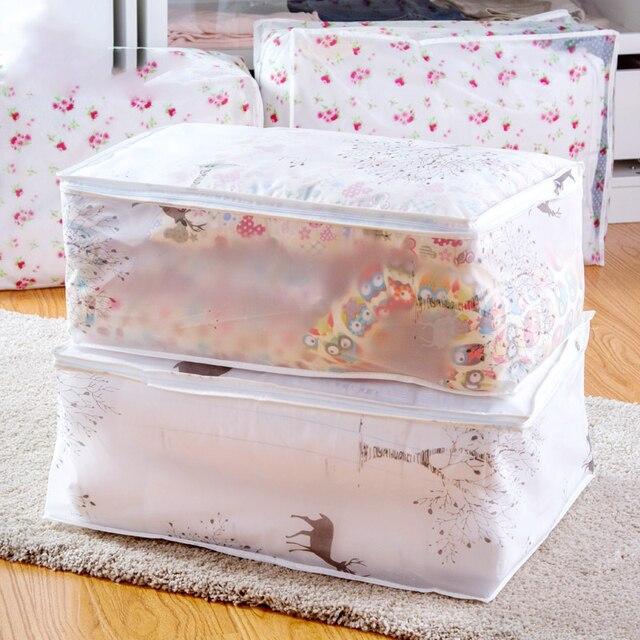 אופנה חמה פריטים ביתיים אחסון שקיות מארגן בגדי שמיכת שקית אבק שמיכות פאוץ רחיץ שמיכות שקיות בגדי אחסון שקיות