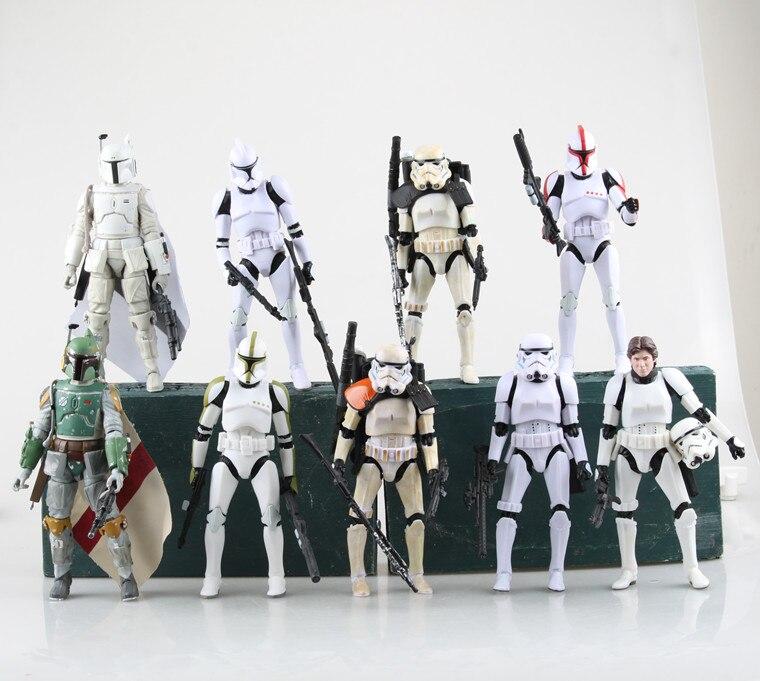 <font><b>New</b></font> <font><b>Star</b></font> <font><b>Wars</b></font> <font><b>Stormtrooper</b></font> <font><b>Figure</b></font> Brinquedos Lightsaber PVC <font><b>Action</b></font> <font><b>Figure</b></font> Juguetes Darth Vader <font><b>Star</b></font> <font><b>Wars</b></font> <font><b>Figures</b></font> Kids model <font><b>Toys</b></font>