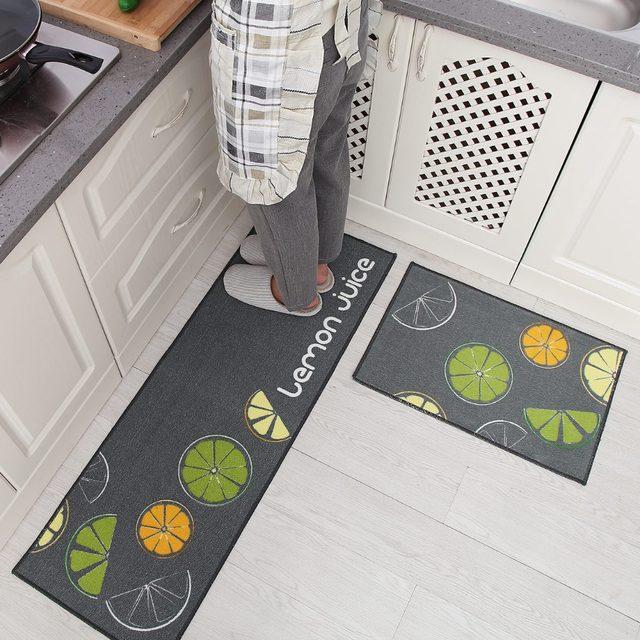 2 Pcs Set High Absorbency Bath Mats Carpet Kitchen Anti Slip Large Bathroom Rug Toilet Mat Carpets And Rugs