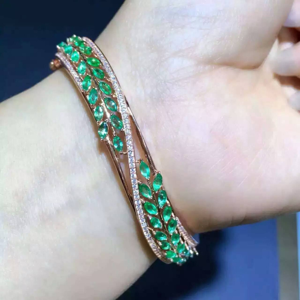 bn silver made ebay design with ruby sterling india bangles s fine bracelets emerald b traditional bangle