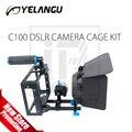 C100 Kit Rig DSLR Cámara Jaula (Incluyendo caja de la Materia y el enfoque de Seguimiento)